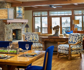 Interior Design by Karen Givnish of the Great Room Design 215.283.8700. Location: Snow Cloud at the Ritz Carlton, Avon, Colorado. Architect: Bobby Ladd of RAL Architects. Contractor: Chuck Hair of Custom Refinement. Photographer: David Patterson.